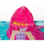 100% Coton Enfants Garçons Filles Charmant à Capuche Ponchos Serviette de Bain (Sirène, 120x60) de la marque Florica image 4 produit