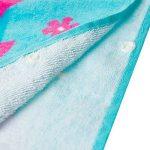 100% Coton Enfants Garçons Filles Charmant à Capuche Ponchos Serviette de Bain (Sirène, 140x60) de la marque Florica image 2 produit
