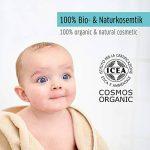 Additif de bain pour bébés et enfants avec amidon de riz, extrait de coing et de mauve. 100% bio + cosmétique naturelle. bain pour bébé et enfants. Poudre pour bébé sans talc. de la marque LaSolium image 4 produit