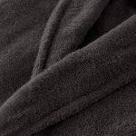 Adore Home Peignoir à Col Châle à Capuche en Tissu Éponge 100% Coton de la marque Adore-Home image 2 produit