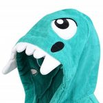 Adore Home Peignoir de Dinosaure pour Enfants 100% Coton Velours de la marque Adore-Home image 2 produit