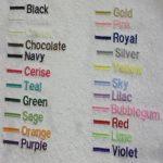 Adulte Peignoir de bain avec une Ancre Logo et nom de votre choix en blanc, taille M, L, XL ou XXL, blanc, Taille L de la marque EFY image 3 produit