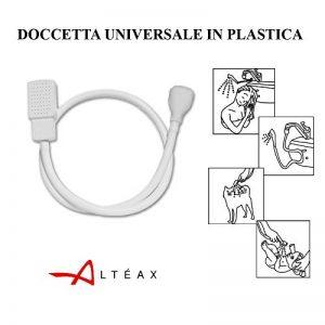 Altéax Douchette universelle et portable en plastique, avec raccord universel, pour lavabo et lave-tête de la marque ALTÉAX image 0 produit