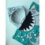 Amaoma Poncho de Bain Enfant Serviette de Bain Enfant avec Capuche Serviette de Plage Enfant Serviette Poncho à Capuche Serviettes Cartoon Garçon Fille Serviettes de Bain pour Bain Piscine Beach de la marque Amaoma image 2 produit
