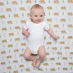 Amazing Baby by SwaddleDesigns - Lot de 3 Couverture Emmaillotage Bébé en mousseline de coton pour bébé de la marque Amazing-Baby image 4 produit