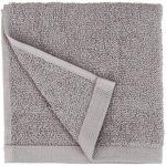 AmazonBasics Lot de 12 petites serviettes en coton, Gris de la marque AmazonBasics image 1 produit
