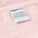 AmazonBasics Set de 2 draps de bain à séchage rapide - Rose poudré de la marque AmazonBasics image 3 produit