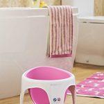 Angelcare - Anneau de Bain pour Bébé - Confort et Sécurité - 6 mois à 18 mois - Rose de la marque Angelcare image 4 produit