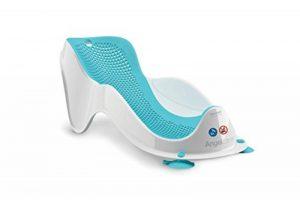 Angelcare - Fit - Transat de Bain pour Bébé - Ergonomique et Sécurisant - 0 à 6 Mois - Bleu de la marque Angelcare image 0 produit