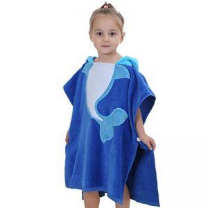 Animaux Motif Colorés Peignoir Avec Capuche Serviette De Bain Pour Bébé de la marque YOUJIA image 0 produit