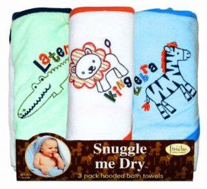 Animaux Sauvages - Set de serviettes de bain avec capuche - 3 pièces - Unisex - Frenchie Mini Couture de la marque Frenchie Mini Couture image 0 produit