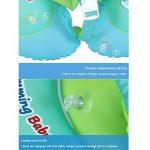 Aolvo Bouée gonflable pour bébé avec dossier et sangle pour piscine, 3 - 7mois (Taille S), 6 - 30mois (Taille L), 2 - 6Ans (Taille XL), Taille L de la marque AOLVO image 3 produit