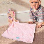 Apaiser Serviette Doudou Jouet Bébé Peluches Doudou Poupée pour Cadeau de Bébé Fille Doudou Garçon(Elephant) de la marque Zerodis image 3 produit