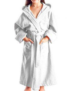 Arus - Peignoir à Capuche - pour Fille ou garçon - 100% Coton Tissu Bouclette Doux de la marque Arus image 0 produit