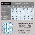 Arus - Peignoir à Capuche - pour Fille ou garçon - 100% Coton Tissu Bouclette Doux de la marque Arus image 1 produit