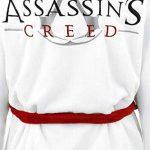 Assassin's Creed Logo Peignoir blanc/rouge taille unique de la marque Groovy image 4 produit