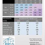 Astra Peignoir de Bain pour Femme/Homme à Capuche, 100% Coton en Tissu éponge, Longueur Mollet ou Longueur Cheville de la marque Arus image 4 produit