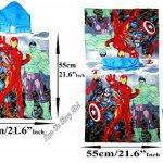 Avengers Poncho Sortie de Bain piscin à Capuche de la marque Avengers image 1 produit