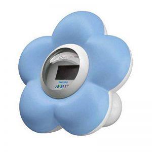 Avent Thermomètre de bain et de chambre de fleur (Bleu) de la marque Philips image 0 produit