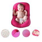 Baby Bath oreiller, 4EVERHOPE flottant anti-dérapant baignoire coussin de bain siège de soutien pour le nouveau-né 0-6 mois (Rose) de la marque 4EVERHOPE image 1 produit