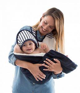 Baby-To-Love Baby Towel (Blue Stripes) de la marque BabyToLove image 0 produit