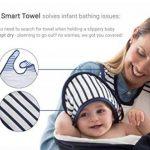 Baby-To-Love Baby Towel (Blue Stripes) de la marque BabyToLove image 1 produit