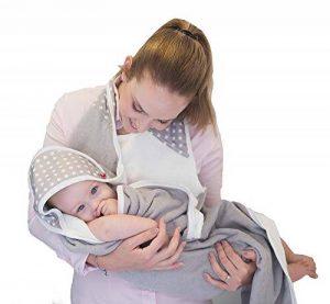 Baby-To-Love Baby Towel (White Stars) de la marque BabyToLove image 0 produit