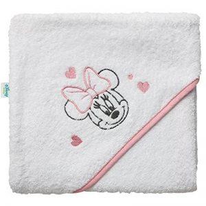 Babycalin Minnie Cape de Bain Brodée 80 x 80 cm de la marque Babycalin image 0 produit
