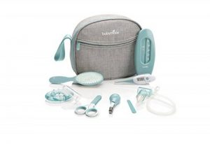Babymoov - Trousse de Soin & de Toilette pour Bébé, 9 Accessoires, Bleu de la marque Babymoov image 0 produit