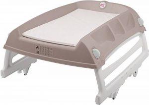 Babysun Table à Langer, Matelas à Langer pour Baignoire, Gris de la marque Babysun image 0 produit