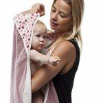 BabyToLove Serviette Papillon Blanc et Rose de la marque BabyToLove image 1 produit