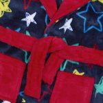BabyTown Bébé Garçons Star Peluche Polaire Peignoir avec Capuche de la marque BabyTown image 1 produit