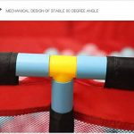 BAIF Parc Rouge - Grande barrière de sécurité pour Jumeaux, Parc pour bébé Portable pour Apprendre à Marcher (Taille: Parc) de la marque BAIF image 4 produit