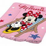 Baignoire bébé + matelas à langer + poubelle à couches Disney Minnie souris rose de la marque keeeper image 2 produit