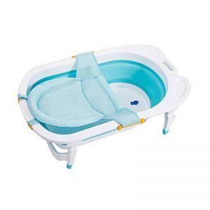 Baignoire bébé pliable de couleur bleue pour les voyages de la marque Babysiting image 0 produit
