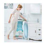 Baignoire bébé pliable de couleur bleue pour les voyages de la marque Babysiting image 3 produit