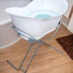 baignoire bébé sur pied avec tuyau de vidange TOP 3 image 3 produit