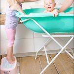Baignoire bébé thermomètre Blanc Owls 102 cm + Pied de la marque MonMobilierDesign image 4 produit