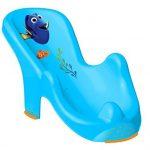 Baignoire de 84 cm pour bébé, motif: Disney Le monde de Dory, avec bouchon, siège de bain, support et gant de toilette de la marque keeeper image 2 produit