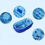 Baignoire gonflable Adulte, Baignoire Gonflable Portable Et Pratique Pliant Large Plus Épais Enfant Adulte Bain Baignoire Bébé Baignoire Pour Nouveau-né TINGTING (Color : Blue, Size : 90 * 55 * 30cm) de la marque TINGTING-Baignoires image 1 produit
