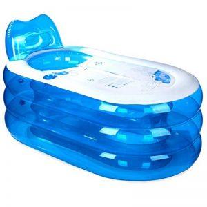 Baignoire Gonflable d'épaississement, Baignoire Adulte PVC, Baignoire Pliable en Plastique, Seau (L x L x H: 145 * 80 * 70cm) de la marque Bathtub image 0 produit