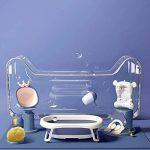 Baignoire pliante, baignoire pour bébé, baignoire pour enfants, fournitures de natation pour enfants, assis, grand de la marque HDJX image 1 produit