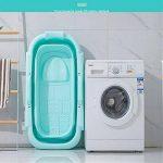 Baignoire pliante portable, baignoire adulte, Baignoire pliante enfants couleur unie PP bébé piscine adultes baignoire baril ménage baignoire portable Profitez d'un bain confortable de la marque YLiansong-bathroom image 1 produit