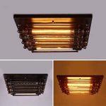 BAIJJ Loft Iron Plafonniers Chambre Chaleur Chaude Chambre d'enfants Rétro Nostalgique Allées Escaliers Corridor Lampes 4 Tête E27 Multiples Styles (Couleur: #1) de la marque BAIJJ image 3 produit