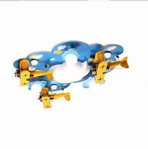 BAIJJ Plafonnier Original de LED, Lampe de Plafond de Chambre d'enfants de Lampe de Plafond de Chambre d'enfants pour Enfants Lampes décoratives de Chambre à Coucher en Bois 90 * 74CM de Multiples de la marque BAIJJ image 0 produit