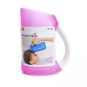 Bain de bébé doux JANTE RINCEUSE de shampoing TASSE CRUCHE nourrisson Baignoire lavage douche MUNCHKIN - Rose de la marque Munchkin image 0 produit
