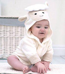 Bain Lapins Agneau bébé Peignoir de bain Coton de la marque Bathing-Bunnies image 0 produit