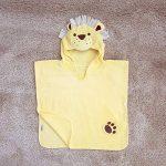 Bain Lapins enfants Lion Serviette poncho pour filles et garçons âgés de 1–3ans pour la plage de bain temps et temps de la marque Bathing-Bunnies image 3 produit