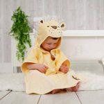 Bain Lapins enfants Lion Serviette poncho pour filles et garçons âgés de 1–3ans pour la plage de bain temps et temps de la marque Bathing-Bunnies image 4 produit