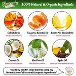 Bain Moussant| 100% Naturel 76% Biologique | Mandarine & Citron | Idéal pour Bébés, Enfants & Adultes de la marque Nannys Naturals image 2 produit